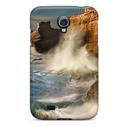 [AvrNMQ4614] Climbing Waves Iphone Wallpaper Printing Cover For Galaxy S4 Case at Amazon.com