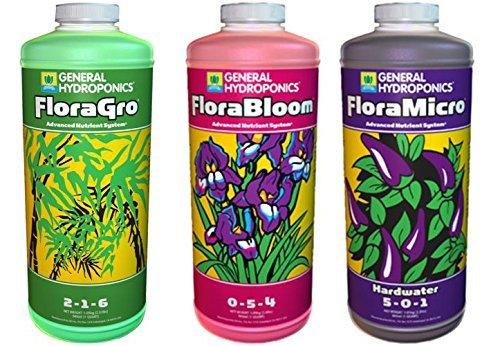 General-Hydroponics-Floragro-Florabloom-Floramicro-Fertilizer-1-quart-Pack-of-3