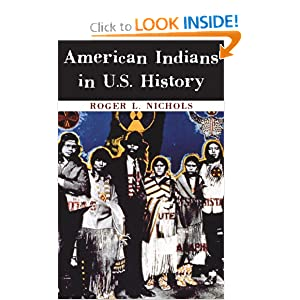 American Indians in U.S. History (Civilization of the American Indian Series) by Roger L. Nichols