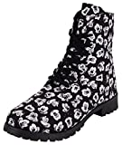 Disney Womens Mickey Mouse Canvas Boot