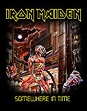 IRON MAIDEN RÃCKENAUFNÃHER / BACKPATCH #12 SOMEWHERE IN TIME