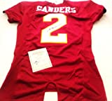 Deion Sanders autographed Florida State jersey Radtke Sports at Amazon.com