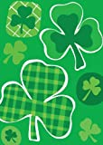 Lucky Clovers Garden Flag