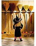 Avanti Press Halloween Cards, 10 Count, Broom Shticks (701244)