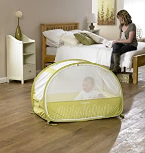 lit de voyage bulle pop up samsonite citron vert b b s pu riculture. Black Bedroom Furniture Sets. Home Design Ideas