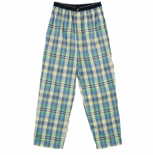 Nautica 085989 Plaid Sleepwear Pants Cosmic Fern S