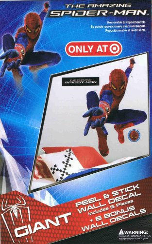 RoomMates The Amazing Spider-Man Giant Peel & Stick Wall Decal Sticker