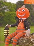 Alan Dart Jack O' Lantern by Alan Dart Halloween Toy Knitting Pattern: Measurements height 18