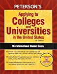 Peterson's Applying to Colleges and Universities in the United States
