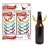 DCI Antler Drink Marker-Set of 6 by Decor Craft (DCI)