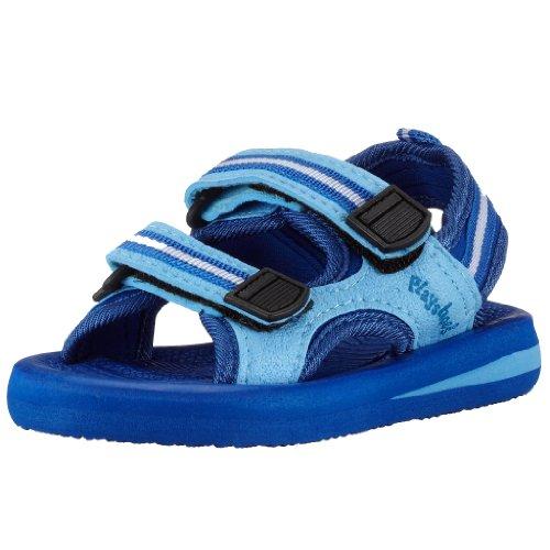 Playshoes EVA Sandalen 171781, Jungen Sandalen, Blau (blau 7), EU 30/31