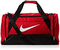 Nike Brasilia 6 Duffel Medium Gym Red/Black/White Size Medium