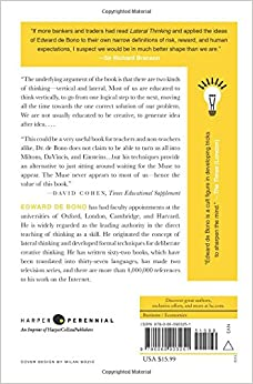 lateral thinking creativity step by step pdf