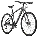 Diamondback 2013 Trace Dual Sport Bike with 700c Wheels (Grey, 16-Inch/Small)