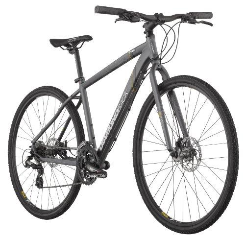 Diamondback 2013 Trace Dual Sport Bike with 700c Wheels (Grey, 16-Inch/Small)