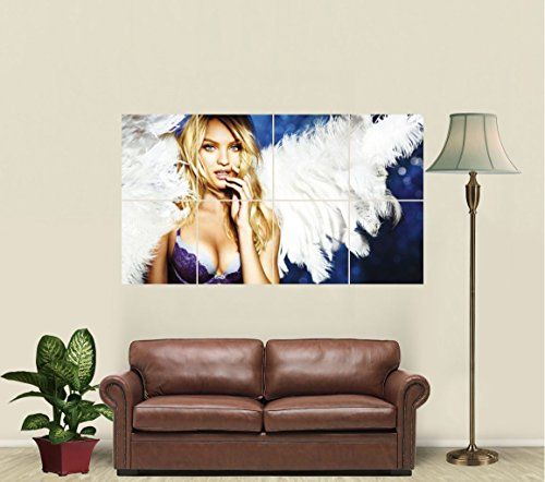 Candice Swanepoel Victoria's Secret Angel rt Print Poster JW811461