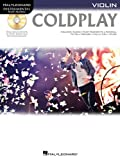 img - for Coldplay: for Violin (Hal Leonard Instrumental Play-Along) book / textbook / text book