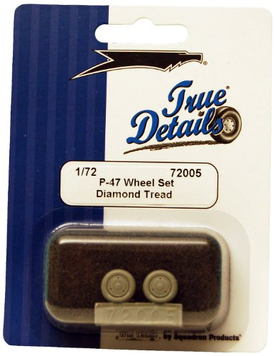 True Details P-47 Wheels Set