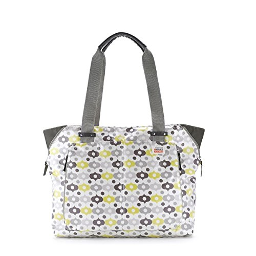 Skip Hop Jonathan Adler Light and Luxe Diaper Tote, Abacus (Discontinued by Manufacturer)