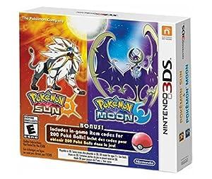 Pokémon Sun and Pokémon Moon Dual Pack