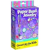 Creativity for Kids Paper Bead Jewelry Kit