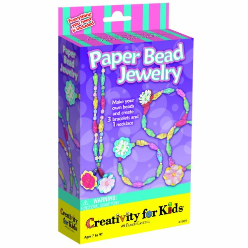 Creativity for Kids Paper Bead Jewelry Kit