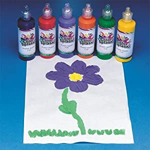 Image: Color Splash! Puffy Paint (Set of 6) - In 6 cool colors that kids love!