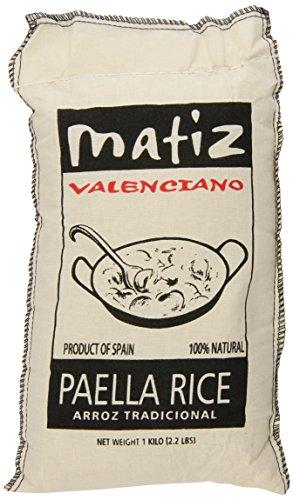 Matiz Valenciano Paella Rice, 2.2 Pound (Pack of 12)