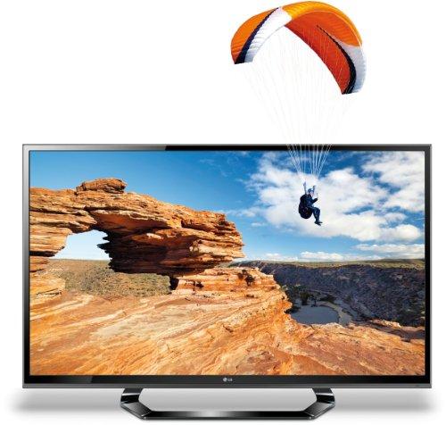 LG 42LM615S 107 cm (42 Zoll) Cinema 3D LED-Backlight-Fernseher Energieeffizienzklasse A (Full-HD, 200Hz MCI, DVB-T/C/S2) schwarz