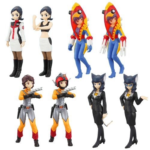 [Ultra Heroine - Imaginary Tokusatsu Girls Encyclopedia 2 (8pcs)] (Original Ultraman Costume)