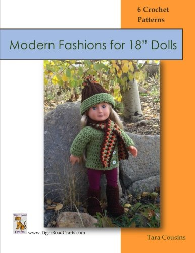 Modern Fashions - Paid and Free Crochet Patterns for 18-inch Dolls Like the American Girl Doll
