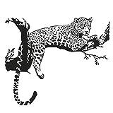 1stモール 転写式 ウォールステッカー 綺麗 壁 おしゃれ 豹 世界地図 音楽 英語 カフェ お店 PR 部屋 インテリア (Aタイプ) ST-TENWAL01-A
