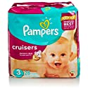 Pampers Cruisers Diapers, Size 3, Jumbo Pack, 28 Count