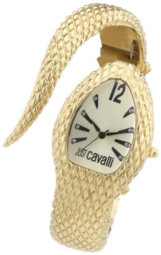 Just Cavalli Women's R7253153517 Poison Gold Ion-Plated Coated Stainless Steel Triangular Watch