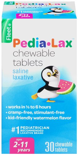 Pedia-Lax Chewable Tablets - 30 ct