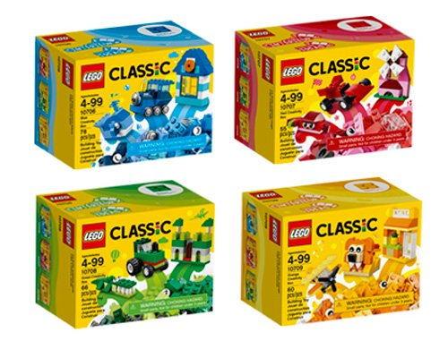 Quad Pack Classic Lego Building Kit