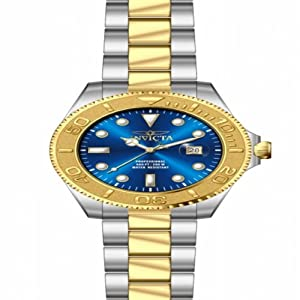 Invicta Men's 15181 Pro Diver Quartz 3 Hand Blue Dial Watch