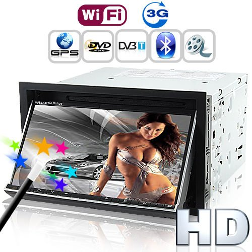 Road Emperor - In Dash Car Dvd With 3G Internet (2Din Gps Dvb-T)