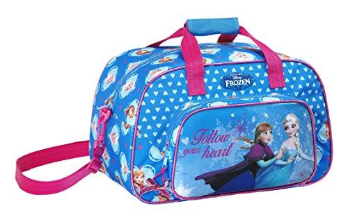 Frozen La Regina Delle Nevi Disney Borsa Viaggio Sport Palestra