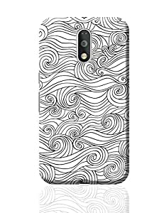 PosterGuy Moto G4 Plus Covers & Cases - Adamant Braids Line Art | Designed by: Mayank Dhawan