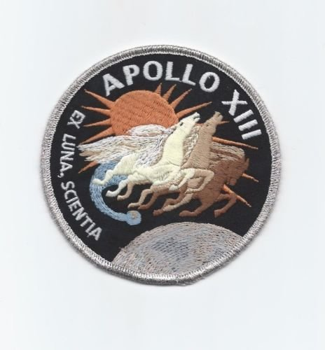 Apollo 13 Mission Patch Official Nasa Edition