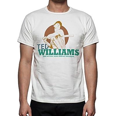 Palalula Men's Baseball Boston Red Sox Ted Williams Tribute T-Shirt