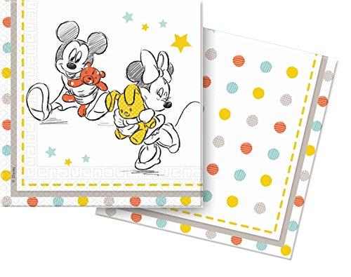 Disney Baby Shower-Tovaglioli di carta, confezione da 20