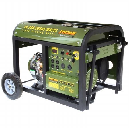 Sportsman GEN10K 10,000 Watt 15 HP 420cc OVH 4-Stroke Gas Powered Portable Generator With Electric Start