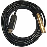 Alcoa Prime 14. 5mm Waterproof USB Endoscope Borescope HD Inspection Camera For Android PC 4 LED