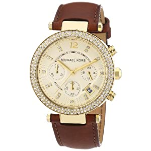 Michael Kors Women's MK2249 Parker Brown Watch