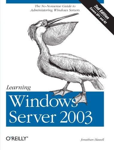 Learning Windows Server 2003