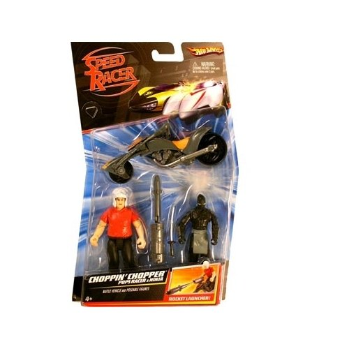 Speed Racer Figure 2-Pack: Chopper/Pops/Ninja - 1
