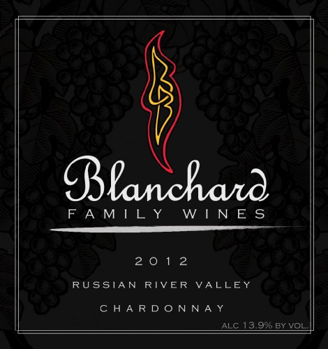 2012 Blanchard Family Wines Chardonnay Russian River Valley 750 Ml