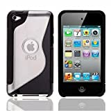 Apple Ipod Touch 4 4g 4th Generation S-Line Series Wave Hydro Gel Silicone Case Cover Skin Plus Screen Protector